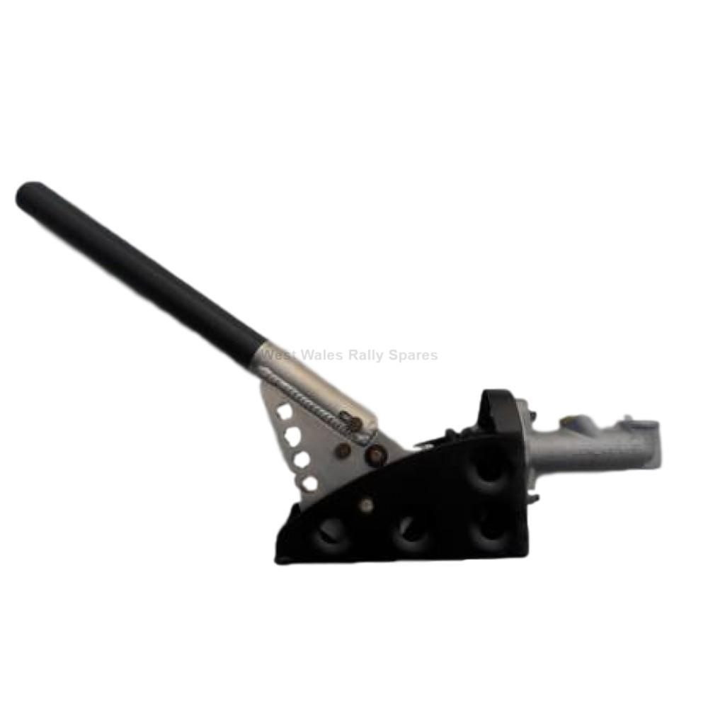 Hydraulic handbrake horizontal (ratchet type)