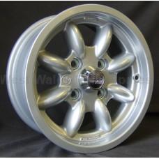 Compomotive ML 6 X 13 Rally Wheel std insert Silver **CLEARANCE**