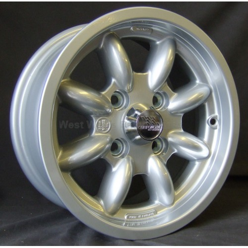 Compomotive ML 6 X 13 Rally Wheel std insert Silver **CLEARANCE**