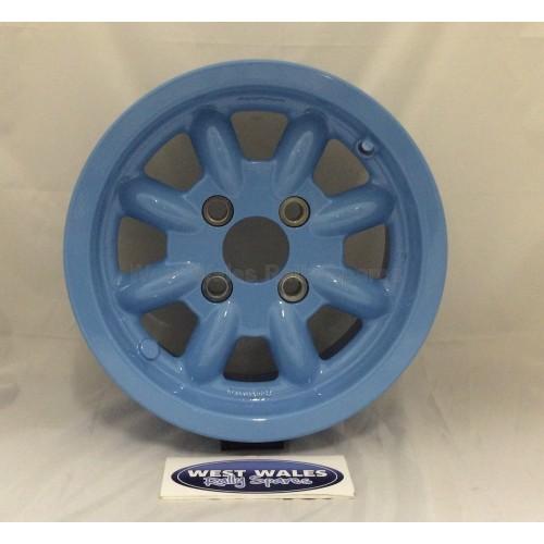Minilite Rally Wheel 6 x 13 GP4 Ford Blue