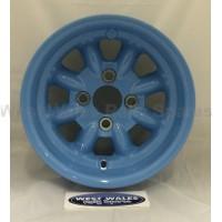Minilite Rally Wheel  7 x 13 GP4 Ford Blue
