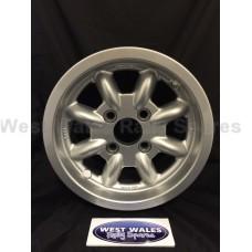 Minilite Rally Wheel  6 x 13 GP4 Ford Silver