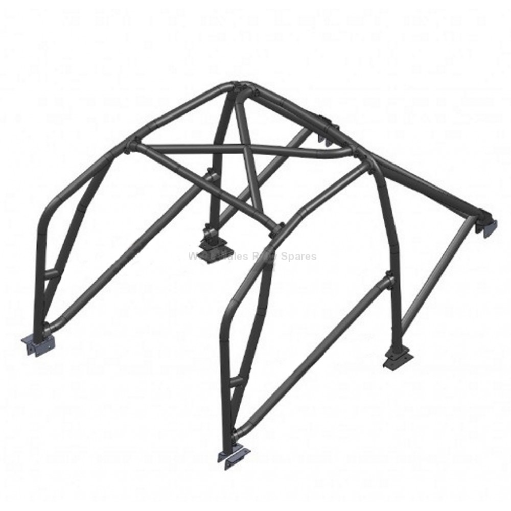 citroen c1 roll cage 6 point safety devices bolt in