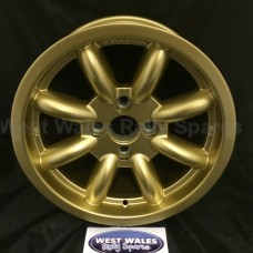 Revolution 8 Spoke Classic Rally Wheel 7x15 Escort Group 4 Gold