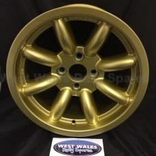 Revolution 8 Spoke Classic Rally Wheel 8x15 Escort Group 4 Gold