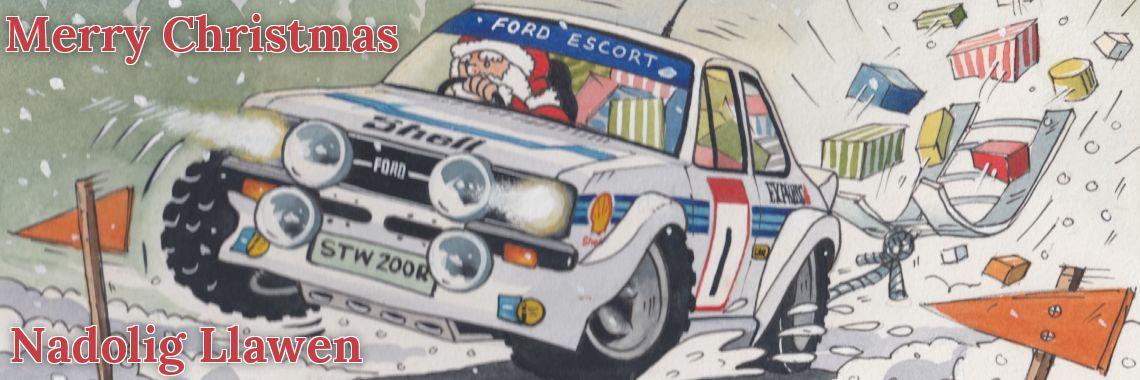Merry Christmas - Nadolig Llawen