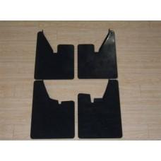 Escort MK2 Molded mudflap set black