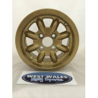 Minilite Rally Wheel  6 x 13 GP4 Ford Gold