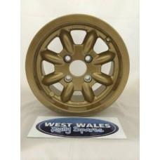 Minilite Rally Wheel  6 x 13 GP4 Ford Gold