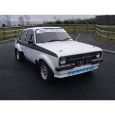 Ford Escort Mk2 6 point bolt in rollcage with diagonal, door bars and harness bar