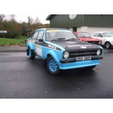 Ford Escort Mk2 multipoint rollcage turret mount X/Diagonal X/Door bars Harness bar Tunnel Brace and Dash Bar