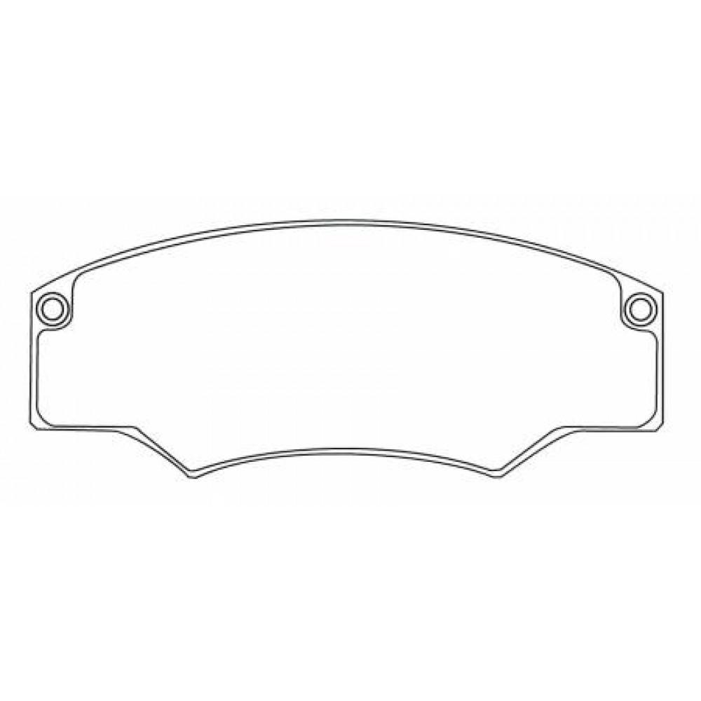 Mintex F6 MDB1200 brake pads