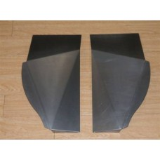 Front chassis skids (pair)