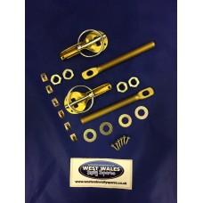 Bonnet Pins Alloy Gold