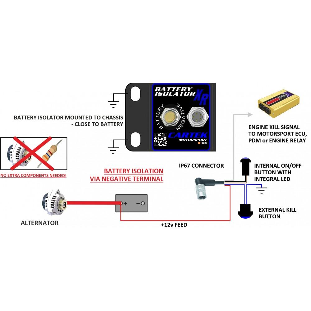 Cartek Battery Isolator Xr How Does A Work