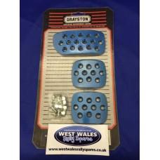 Grayston Blue Pedal Pads