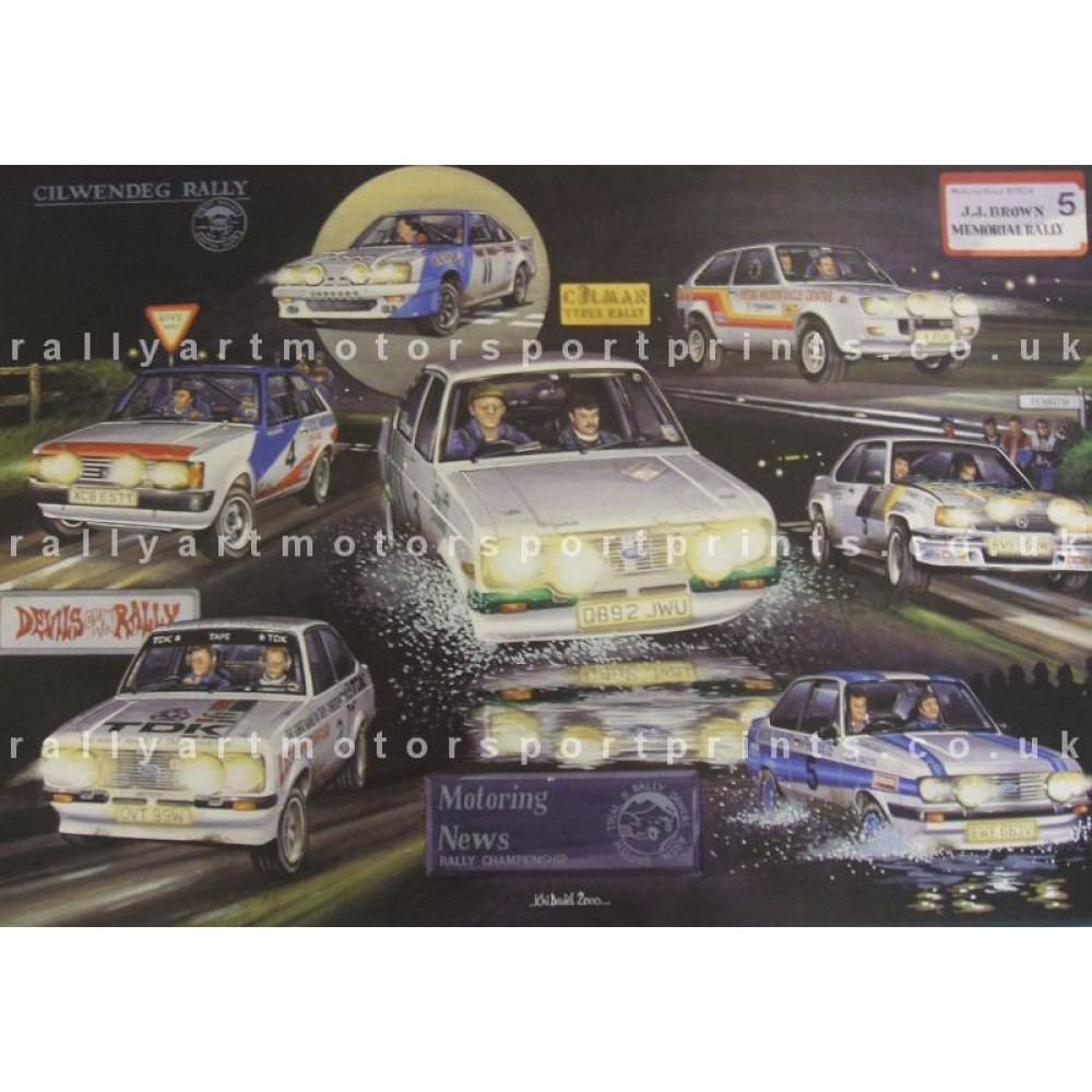 Motoring News Road Rally Compilation
