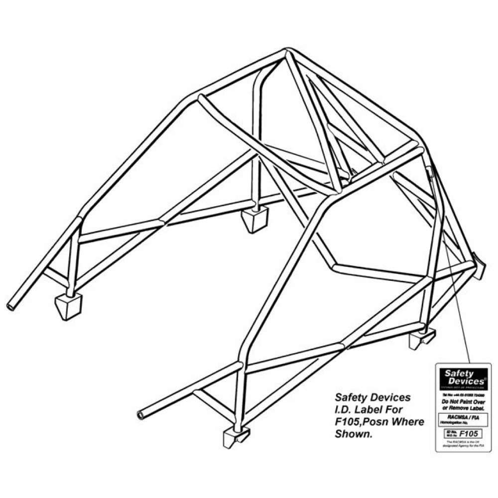7 as well 2 Cargo   32x32 moreover Powerwinch 912 Parts Diagram in addition Mk2 Escort Cds Full Weld In Roll Cage additionally Yakima Replacement Rack And Roll Tongue Wiring Harness Open Box. on harness tie downs