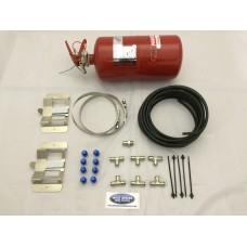 Lifeline plumbed in Fire Extinguisher 4ltr mech system zero 2000 Fire Marshal