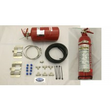 Lifeline plumbed in 4ltr mech system zero 2000 Fire Marshall