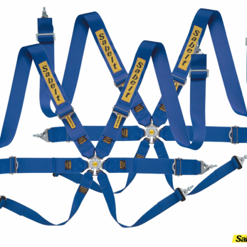Sabelt Clubman saloon 6pt harness *2 sets* Blue **CLEARANCE**
