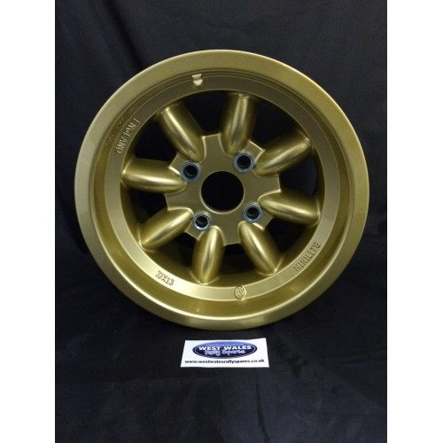 Minilite Rally Wheel  7 x 13 GP4 Ford Gold