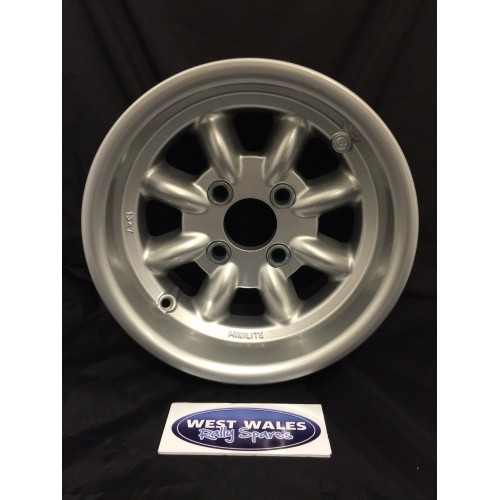 Minilite Rally Wheel  7 x 13 GP4 Ford Silver