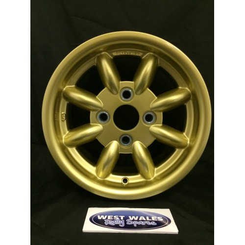 Revolution 8 Spoke Classic Rally Wheel 6x13 Escort Group 4 Gold
