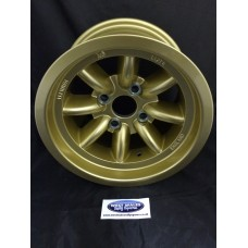 Minilite Rally Wheel  8 x 13 GP4 Ford Gold