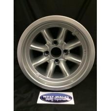 Minilite Rally Wheel 9 x 13 GP4 Ford Silver