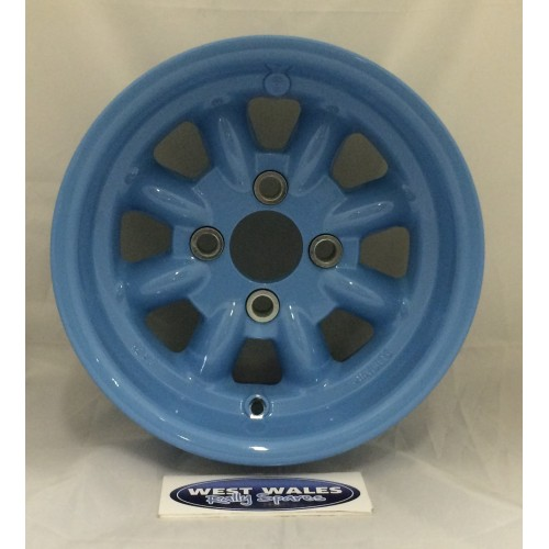 Minilite Rally Wheel  7 x 13 GP4 Ford Blue