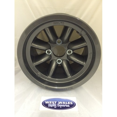 Minilite Rally Wheel  8 x 13 GP4 Ford Anthracite
