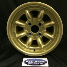 Revolution 8 Spoke Classic Rally Wheel 7x13 Escort Group 4 Gold